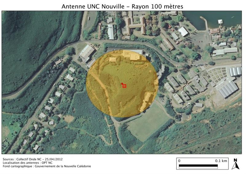 Antenne UNC Nouville