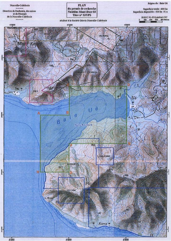 Mont Dore / Baie Ué