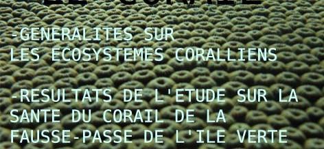 Un exposé sur le Corail