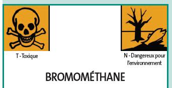 Traitement de marchandises importées au bromure de méthyle