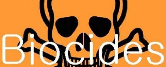 Demande de réglementation biocides en Nouvelle-Calédonie