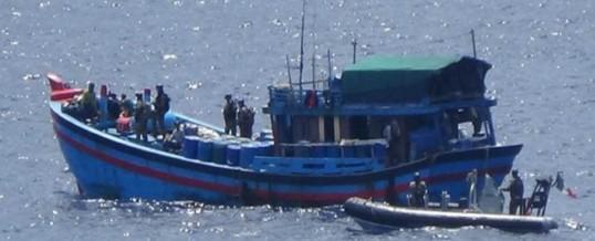 Naufrage Blue boat / pêche illégale